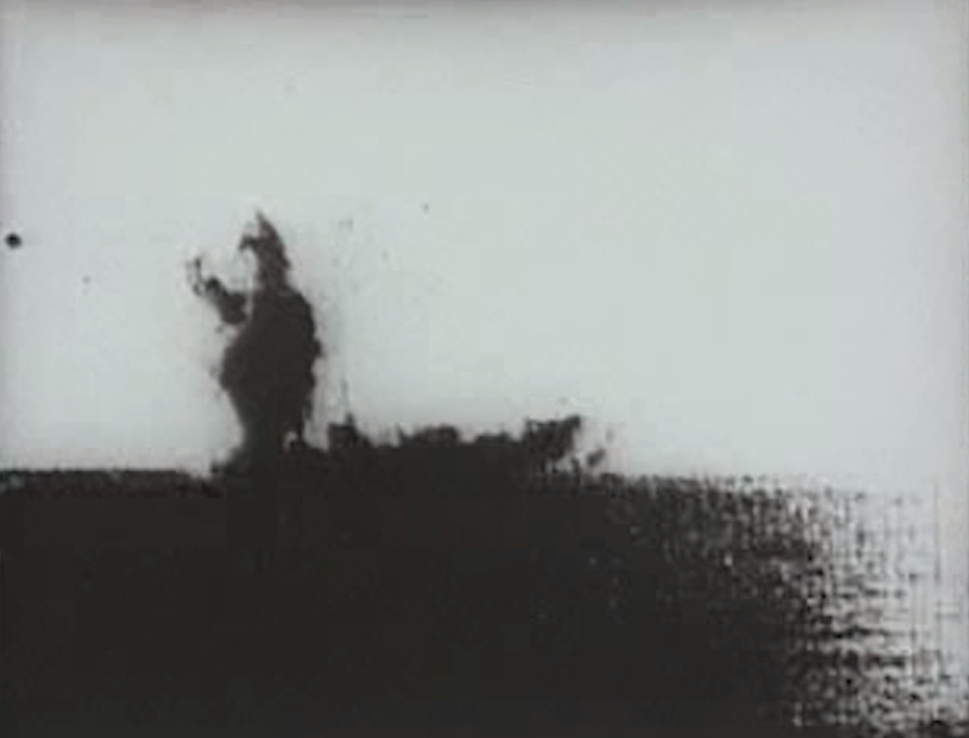 Video art by Julianne Aguilar using historic wartime footage